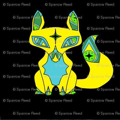 Gypsy Fox in Gold