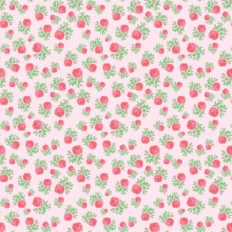 roses fabric by susiprint on Spoonflower - custom fabric