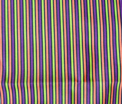 Halloween Stripes Vertical