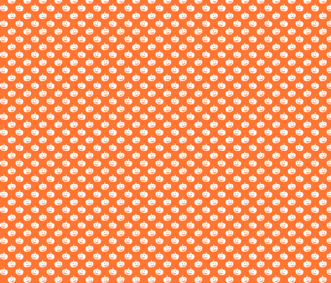 pumpkin silhouettes fabric by risarocksit on Spoonflower - custom fabric