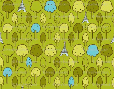 Le Petit Parc - Paris Eiffel Tower Park Green