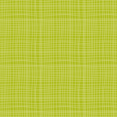 Off The Grid - Plaid Geometric Green fabric by heatherdutton on Spoonflower - custom fabric