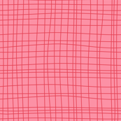 Off The Grid - Plaid Geometric Pink