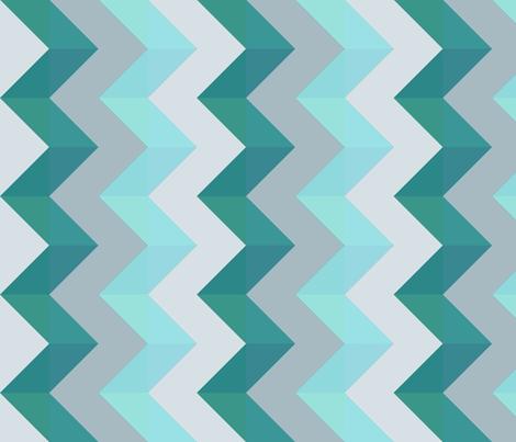 zigzags_varied fabric by glindabunny on Spoonflower - custom fabric