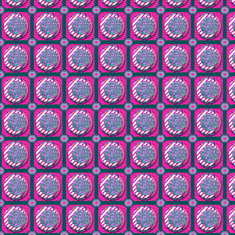 ZZ Kids Cheater Quilt: Stacked Circle Patches - SMALL fabric by tallulahdahling on Spoonflower - custom fabric