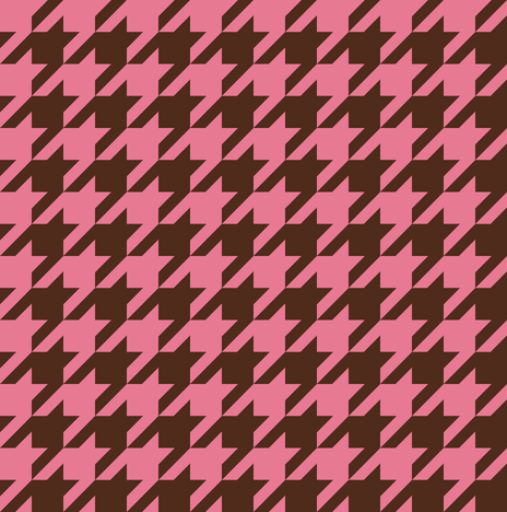 The Houndstooth Check - 31 Flavors fabric by peacoquettedesigns on Spoonflower - custom fabric