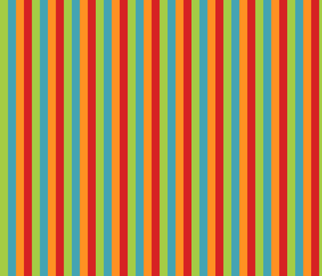 Monster stripe fabric by tracydb70 on Spoonflower - custom fabric