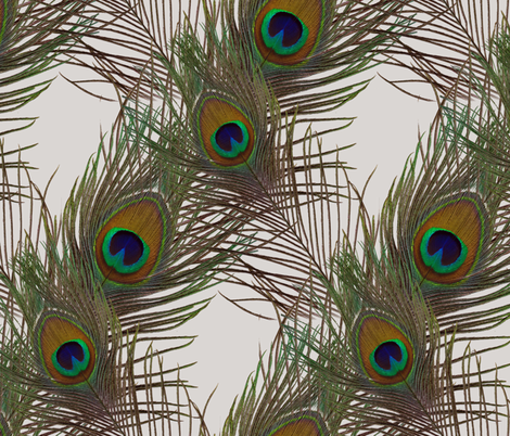 The Fabulous Peacock Diamond fabric by peacoquettedesigns on Spoonflower - custom fabric