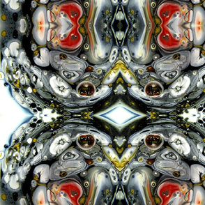 DRE DESIGNS CHROMATIC ABSTRACT 190