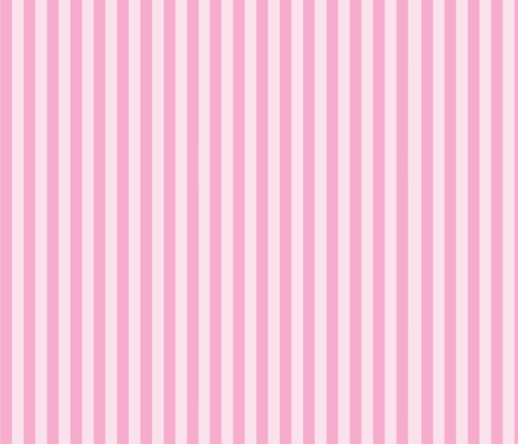 Ice Cream Dream - Stripes fabric by frostedfleurdelis on Spoonflower - custom fabric