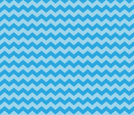 Zigzag Sea Chevrons Aqua And Tropical Blue Wallpaper