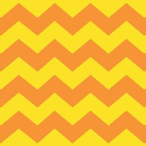 Zigzag Sea Chevrons (Orange and Yellow)