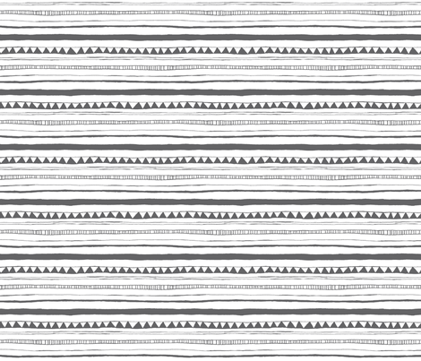 Drawn Stripe fabric by leanne on Spoonflower - custom fabric