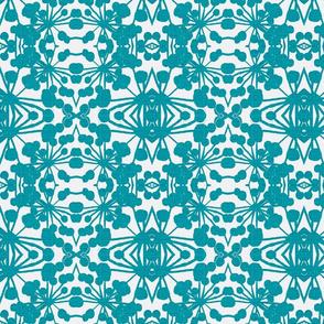FloraXturquoise