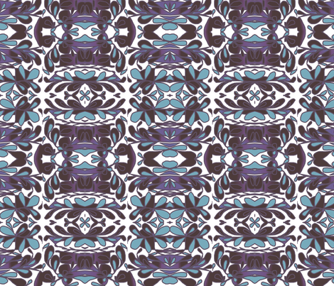 floating_ fabric by artsylady on Spoonflower - custom fabric