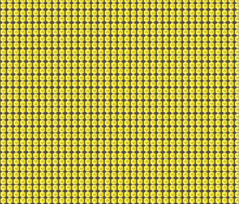 Minifig Head fabric by kahoxworth on Spoonflower - custom fabric