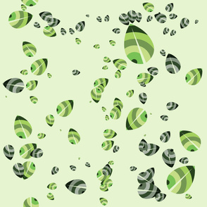 Green leaves - organic