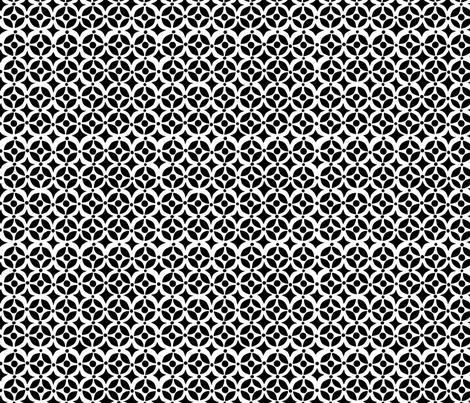 Geo Black fabric by bzbdesigner on Spoonflower - custom fabric