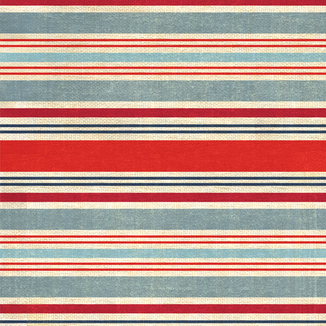 American Almanac Stripes fabric by bzbdesigner on Spoonflower - custom fabric