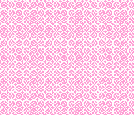 Geo Pink fabric by bzbdesigner on Spoonflower - custom fabric