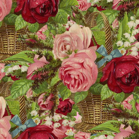 The Flower Shop fabric by peacoquettedesigns on Spoonflower - custom fabric