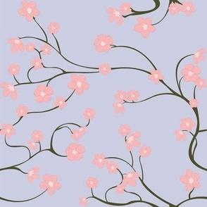 Cherry Blossoms (purple/ no leaves)