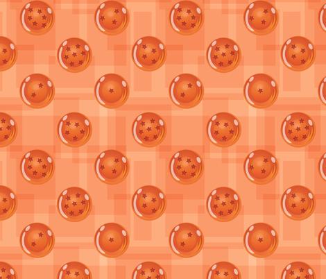 The Seven Dragon Orbs fabric by jaana on Spoonflower - custom fabric