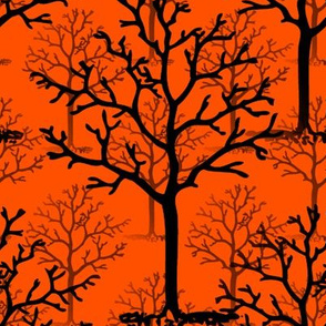 Halloweentown Forest Reverse