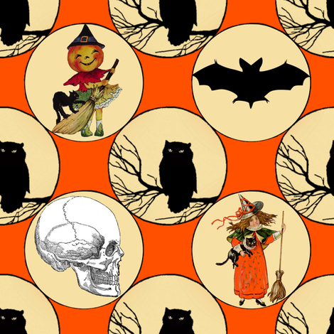 This Is Halloween! fabric by peacoquettedesigns on Spoonflower - custom fabric