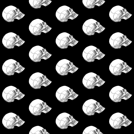 Yorick! Small fabric by peacoquettedesigns on Spoonflower - custom fabric