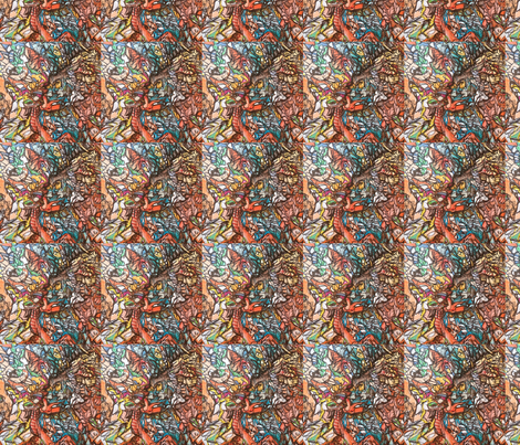 trisharhomberg_aaronseither fabric by bowscollective on Spoonflower - custom fabric