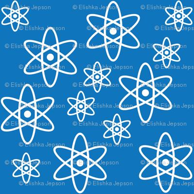 Atomic Orbits (Blue)