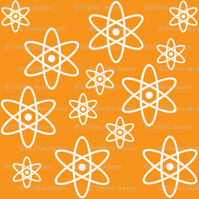 Atomic Orbits (Orange)