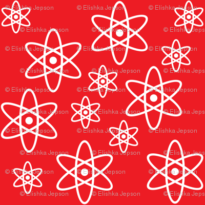 Atomic Orbits (Red)