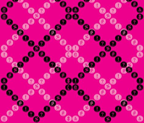 typewriter_2-01 fabric by hollyakkerman on Spoonflower - custom fabric
