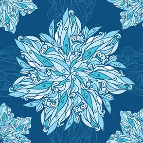 Doodle Swirl Star