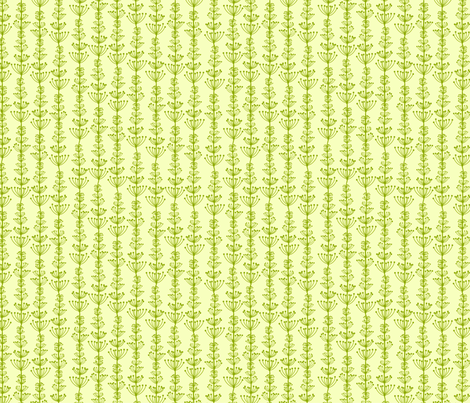 Green Vines fabric by oksancia on Spoonflower - custom fabric