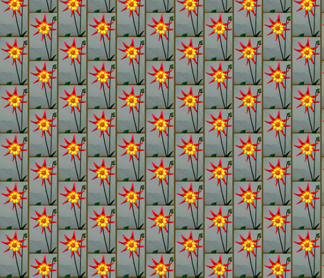Edinburgh Dahlia fabric by robin_rice on Spoonflower - custom fabric