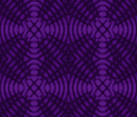purple celtic Refraction Gothic fabric by onestitchdesigns on Spoonflower - custom fabric
