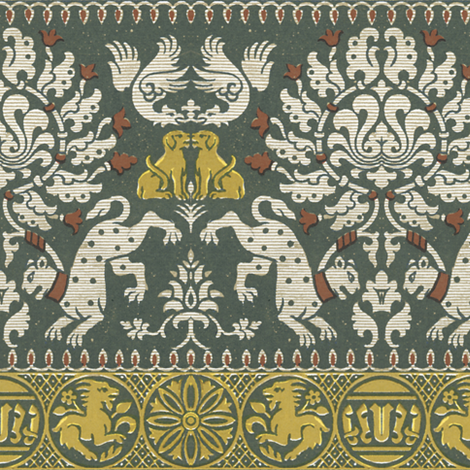 Menagerie fabric by peacoquettedesigns on Spoonflower - custom fabric