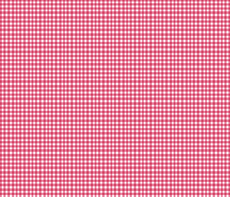 Red Gingham fabric by boris_thumbkin on Spoonflower - custom fabric