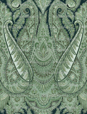 Paisley Sublime ~ The Moon Moth