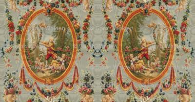 Rococo Swingers ~ Grey Moire
