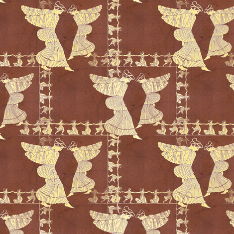My Big Fat Greek Wedding Dance fabric by donna_kallner on Spoonflower - custom fabric