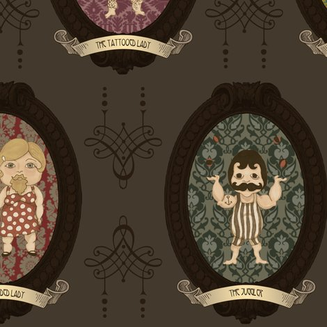 Rframed_characters_brown_spoonflower_size_shop_preview