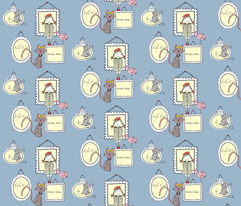 Portrait of decisions fabric by evelynrosedesigns on Spoonflower - custom fabric