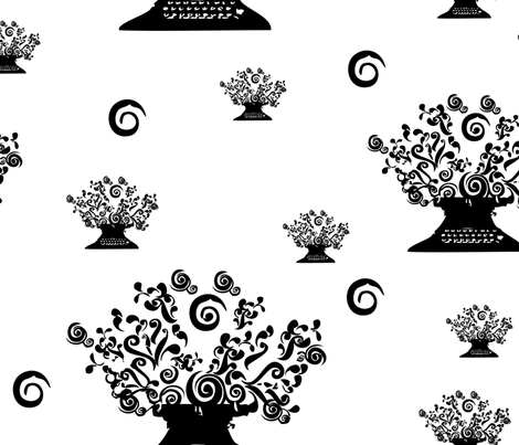 TypewriterCreatesFlowers fabric by venia on Spoonflower - custom fabric