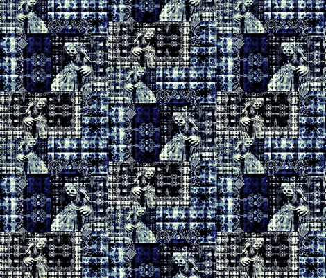 Fright Night fabric by whimzwhirled on Spoonflower - custom fabric