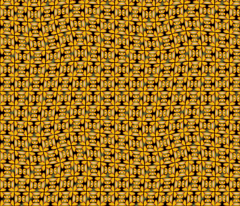 African Trader fabric by david_kent_collections on Spoonflower - custom fabric