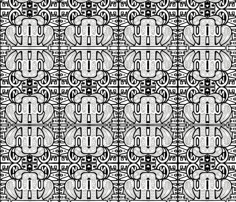 word pray 6 fabric by whimzwhirled on Spoonflower - custom fabric